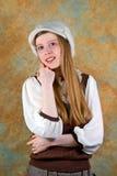 Muchacha rubia Imagen de archivo libre de regalías