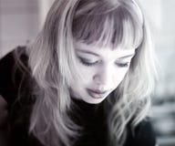 Muchacha rubia Imagenes de archivo