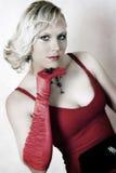 Muchacha rubia Fotografía de archivo