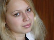 Muchacha rubia Imagen de archivo
