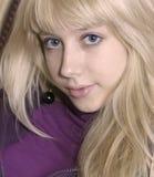 Muchacha rubia joven Fotografía de archivo libre de regalías
