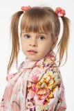 Muchacha rubia linda Fotografía de archivo