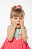 Muchacha rubia linda Imágenes de archivo libres de regalías