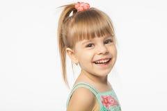 Muchacha rubia linda Foto de archivo libre de regalías