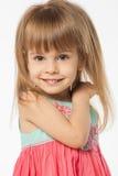 Muchacha rubia linda Fotos de archivo