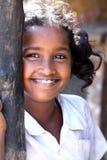 Muchacha rural india alegre Foto de archivo