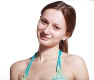 Muchacha sin maquillaje Imagen de archivo libre de regalías
