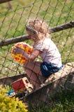 Muchacha solamente en salvadera Foto de archivo libre de regalías