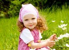 Muchacha sonriente Fotos de archivo