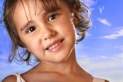 Muchacha sonriente Imágenes de archivo libres de regalías