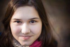Muchacha sonriente Fotografía de archivo