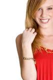 Muchacha sonriente Imagen de archivo libre de regalías