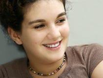 Muchacha sonriente foto de archivo libre de regalías