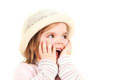 Muchacha sonriente fotografía de archivo libre de regalías