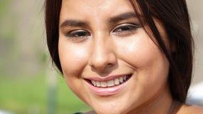 Muchacha sonriente adolescente Imagen de archivo libre de regalías