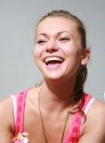 Muchacha sonriente del retrato fotos de archivo