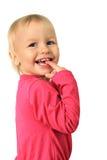 Muchacha sonriente feliz imagen de archivo libre de regalías