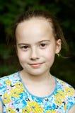 Muchacha sonriente - retrato Fotos de archivo