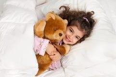 Muchacha soñolienta Foto de archivo libre de regalías