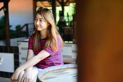 Muchacha tailandesa del retrato Imagen de archivo libre de regalías