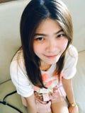 Muchacha tailandesa del retrato Fotos de archivo libres de regalías