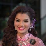 Muchacha tailandesa del retrato Bangkok, Tailandia Foto de archivo