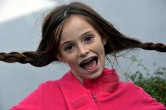 Muchacha tonta del adolescente Fotografía de archivo