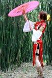 Muchacha tradicional Foto de archivo libre de regalías