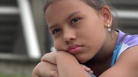 Muchacha triste, juventud deprimida, sensaciones almacen de video