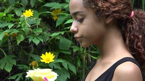 Muchacha triste o deprimida de Latina metrajes
