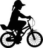 Muchacha y bicicleta