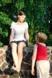 Muchacha y muchacho 3 Imagenes de archivo