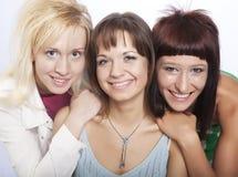 Muchachas adolescentes felices Foto de archivo