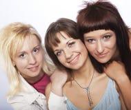 Muchachas adolescentes felices Fotos de archivo libres de regalías