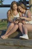 Muchachas adolescentes rubias Fotos de archivo libres de regalías
