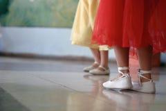 Muchachas de baile Imagen de archivo
