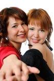 Muchachas de baile Fotos de archivo libres de regalías