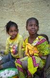 Muchachas de Fulani, Djenne, Malí imágenes de archivo libres de regalías