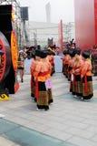 Muchachas de la minoría, IFICH China 2013 Fotos de archivo libres de regalías