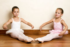 Muchachas del ballet Imagen de archivo libre de regalías