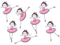Muchachas del ballet Fotos de archivo