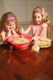 Muchachas del panadero Fotografía de archivo