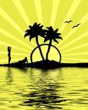 Muchachas del verano stock de ilustración