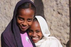 Muchachas en Etiopía Imágenes de archivo libres de regalías