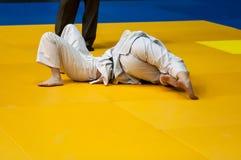Muchachas en judo Imagen de archivo