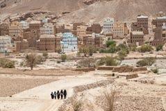 Muchachas en Yemen Imagenes de archivo