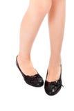 Muchachas hermosas de las piernas en tacones altos. Imagenes de archivo