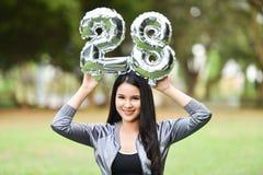 Muchachas hermosas 28 mujeres felices de la diversión de las muchachas Imagenes de archivo