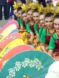 Muchachas indonesias fotos de archivo