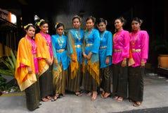 Muchachas jovenes del malay Imagen de archivo